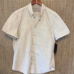 Calvin Klein Jeans  short sleeve dress shirt